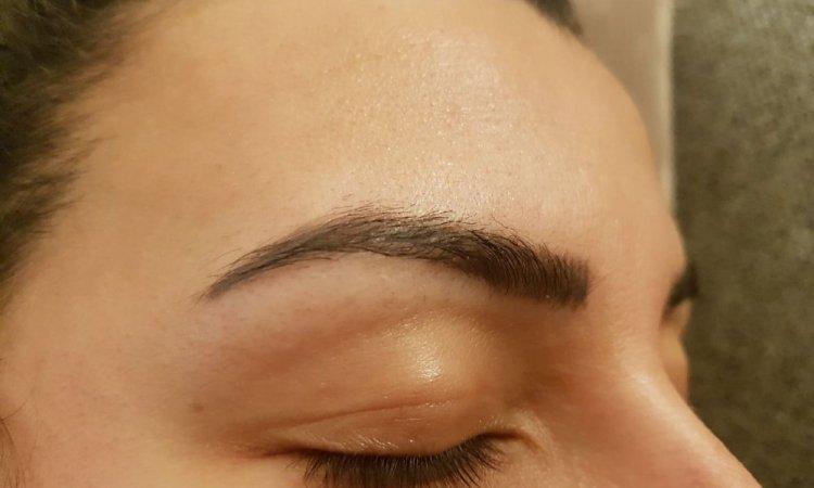 shading des sourcils
